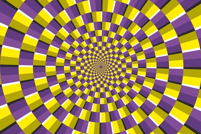 Les illusions d 39 optiques reseau for Effet d optique 3d